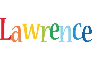 Lawrence birthday logo
