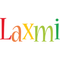 Laxmi birthday logo