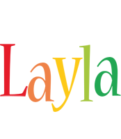 Layla birthday logo