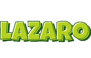 Lazaro summer logo
