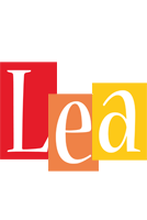 Lea colors logo