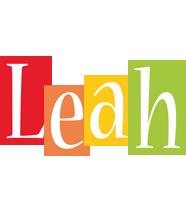 Leah colors logo