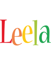 Leela birthday logo