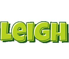 Leigh summer logo