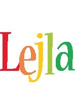 Lejla birthday logo