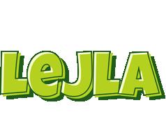 Lejla summer logo