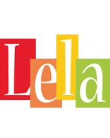Lela colors logo