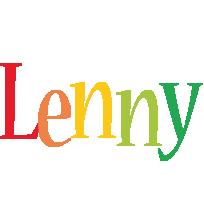 Lenny birthday logo