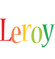 Leroy birthday logo