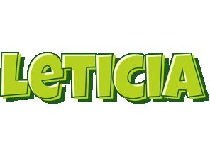 Leticia summer logo