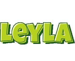 Leyla summer logo
