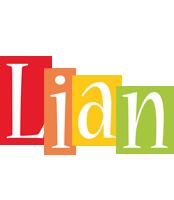 Lian colors logo
