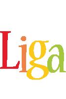 Liga birthday logo