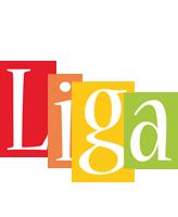Liga colors logo