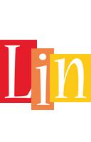 Lin colors logo