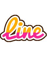 Line smoothie logo