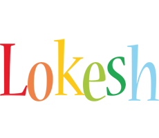 Lokesh birthday logo