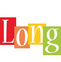 Long colors logo