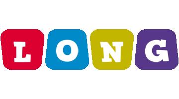 Long kiddo logo