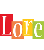 Lore colors logo
