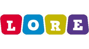 Lore kiddo logo