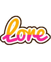 Lore smoothie logo