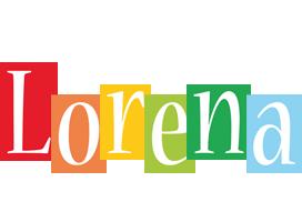Lorena colors logo