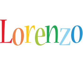 Lorenzo birthday logo