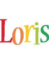 Loris birthday logo