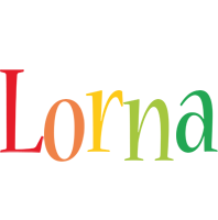 Lorna birthday logo