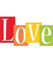 Love colors logo