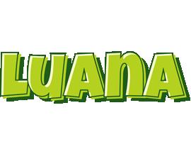 Luana summer logo