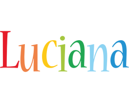 Luciana birthday logo