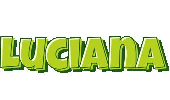 Luciana summer logo