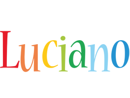 Luciano birthday logo