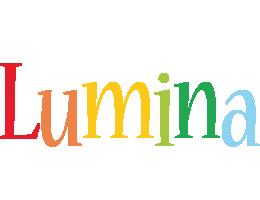 Lumina birthday logo