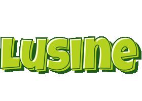 Lusine summer logo
