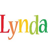 Lynda birthday logo
