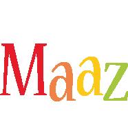 Maaz birthday logo
