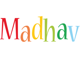 Madhav birthday logo