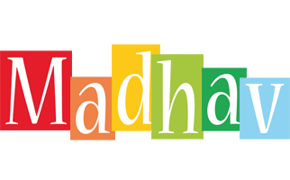 Madhav colors logo
