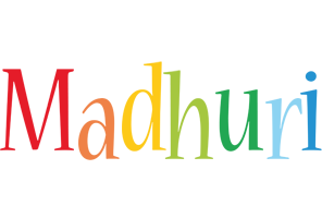 Madhuri birthday logo