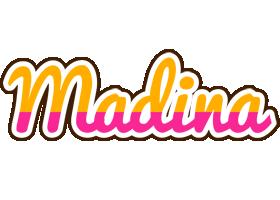 Madina smoothie logo