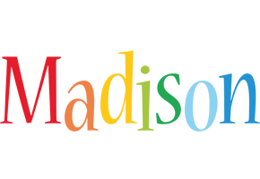 Madison birthday logo