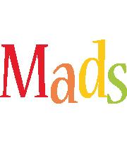 Mads birthday logo