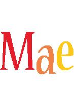 Mae birthday logo