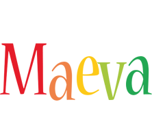 Maeva birthday logo