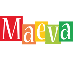 Maeva colors logo