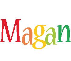 Magan birthday logo