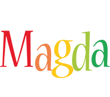 Magda birthday logo